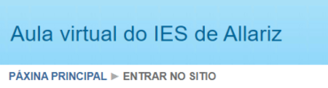 Aula virtual IES Allariz