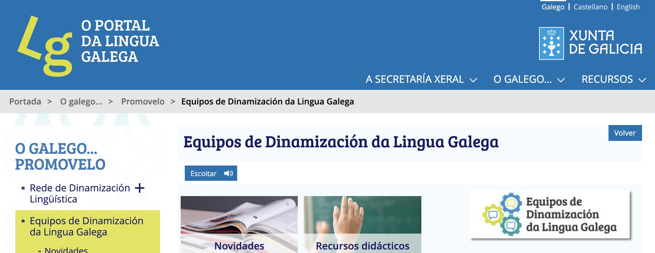EDLG (Equipos de Dinamización da Lingua Galega)