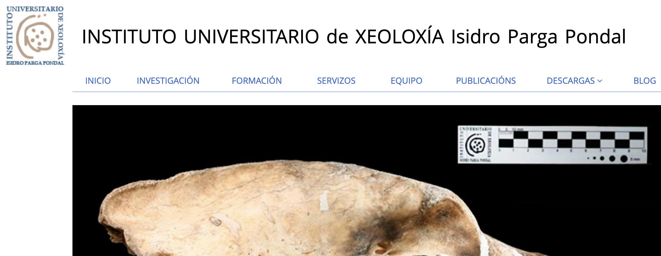 Instituto Universitario de Xeoloxía Isidro Parga Pondal